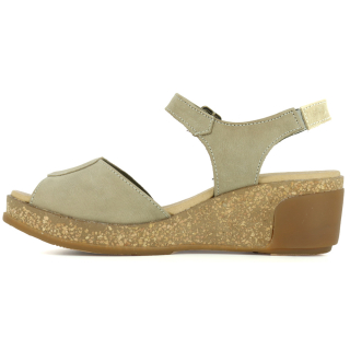 El Naturalista Damen Leder Sandale Leaves N5000
