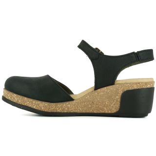 El Naturalista Damen Leder Sandale Leaves N5001