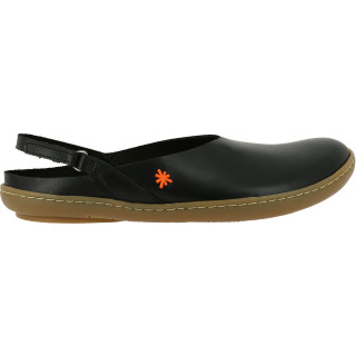 Art Damen Leder Ballerinas Black