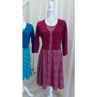 Zilch Bamboo Cardigan Short Berry